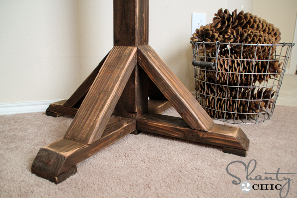 diy free standing coat rack 2