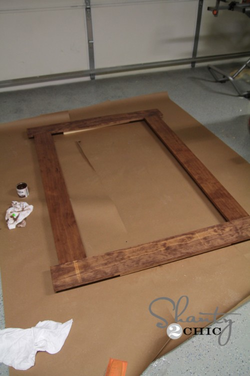 Build a framed chalkboard