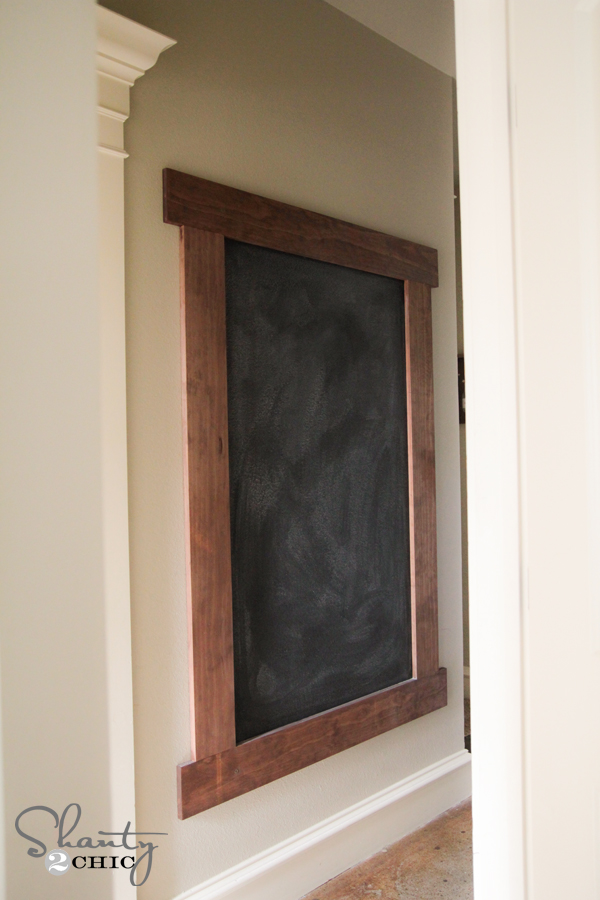 Can You Use Chalkboard Paint On Finished Wood