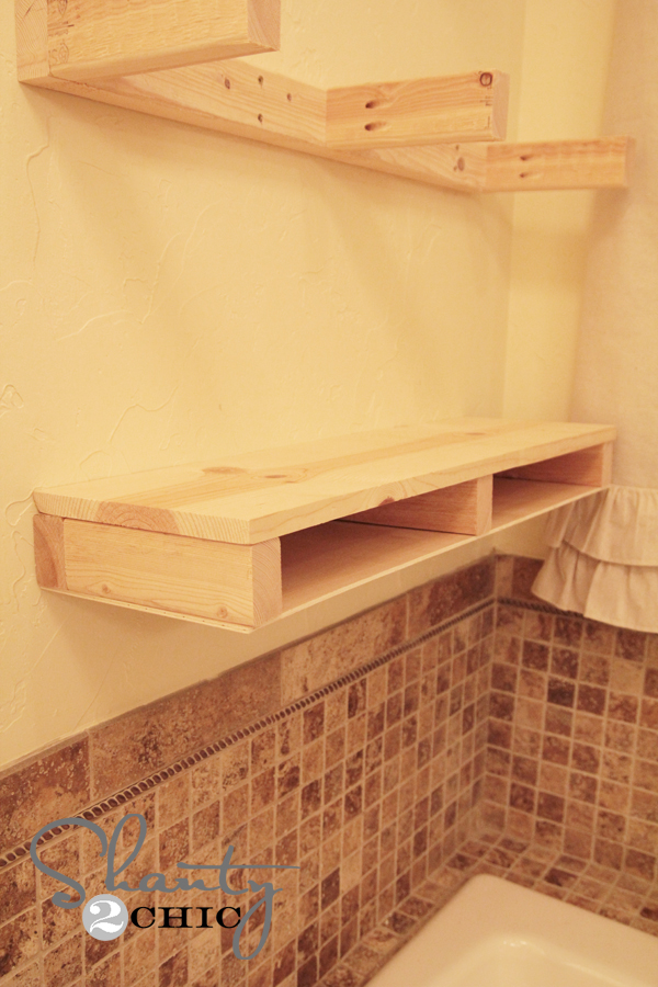 pine shelf board 2