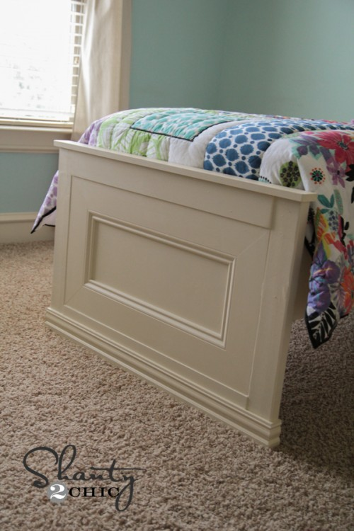 DIY Footboard