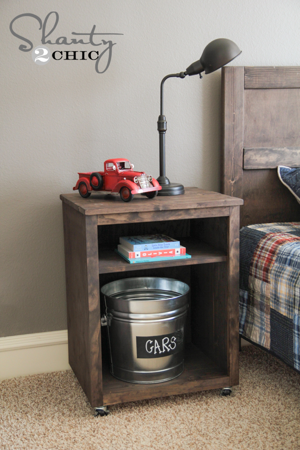 diy nightstand shanty 2 chic. Black Bedroom Furniture Sets. Home Design Ideas