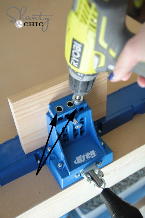 Kreg Jig K5 pocket holes