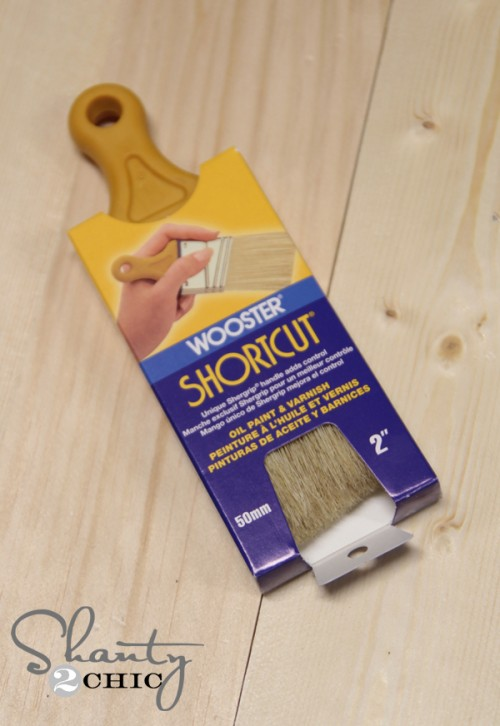 Paint Brush for staining wood