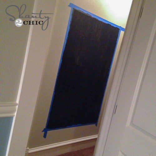 Paint Chalkboard Wall