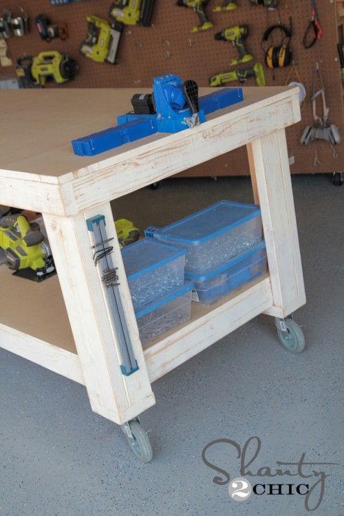 Shanty2Chic DIY Workbench