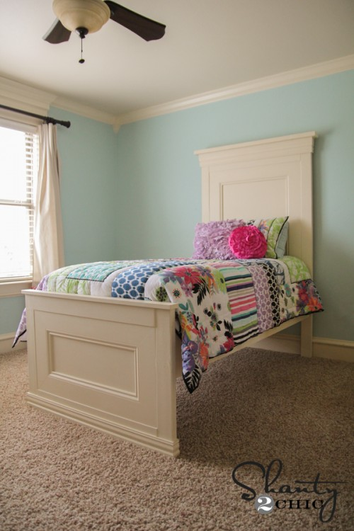 Twin Bed DIY