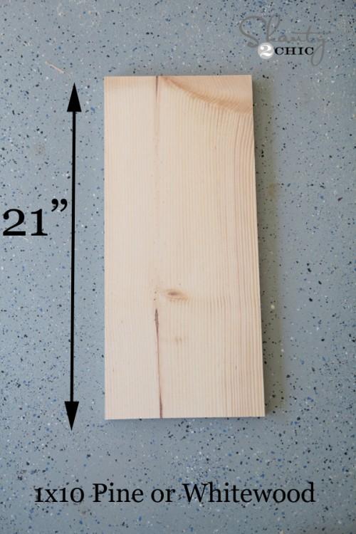 Wood for DIY Towel Holder