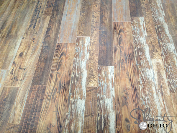 Reclaimed Looking Laminate House Update Shanty 2 Chic
