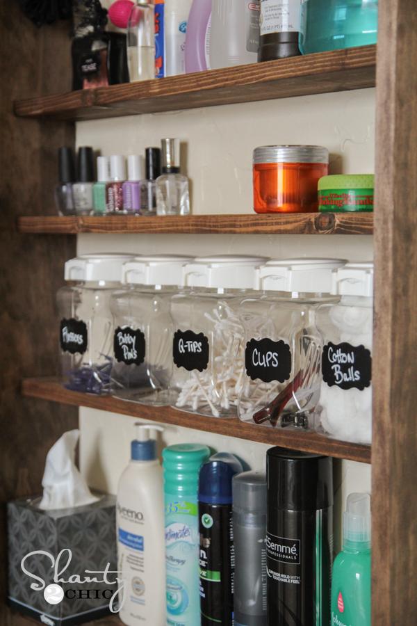 Original DIY Pallet Primitive Bathroom Storage Cabinet  101 Pallets
