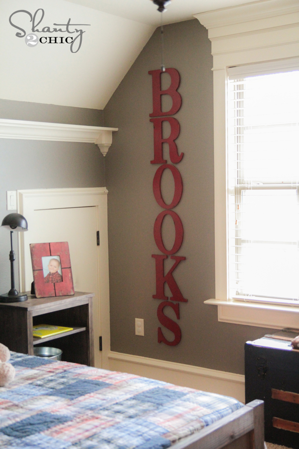 big cheap wall letters
