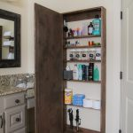 DIY Bathroom Mirror Storage Case