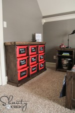DIY Ikea Trofast Toy Storage