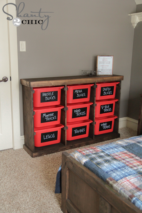 Diy Storage Idea Shanty 2 Chic