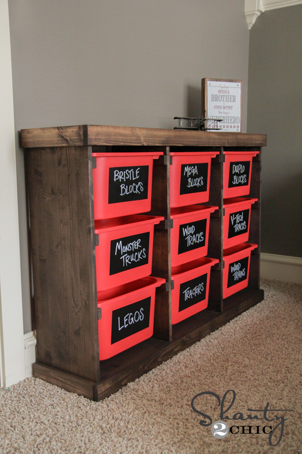 DIY Storage Idea! - Shanty 2 Chic