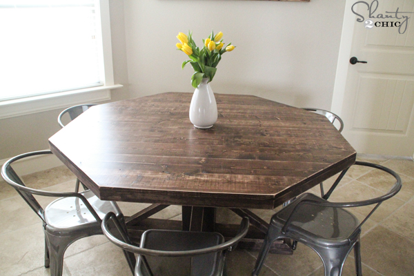 Attirant DIY Round Table With Trusses