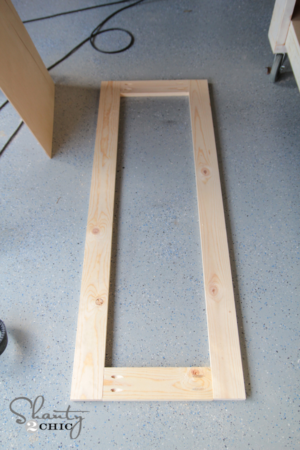 how to make a mirror frame from wood