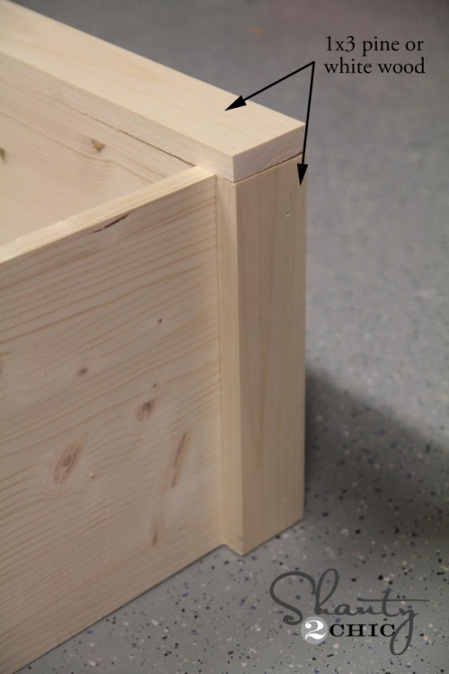 How to add wood trim