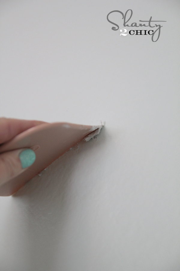 How to easily fill nail holes in wall