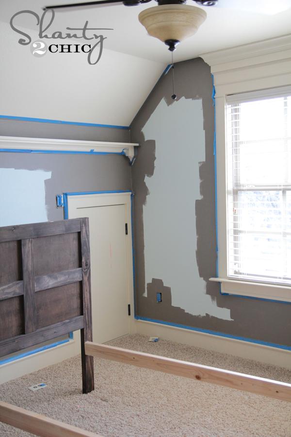 how i paint walls shanty 2 chic. Black Bedroom Furniture Sets. Home Design Ideas