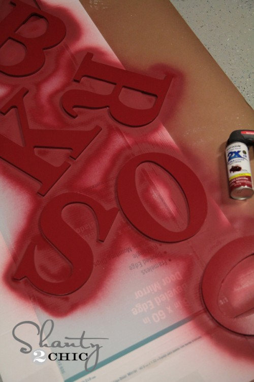 Rustoleum Colonial Red Spray Paint