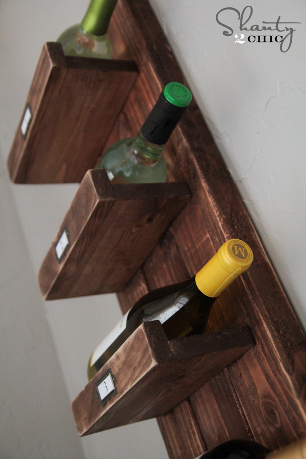 Diy Wine Rack Shanty 2 Chic