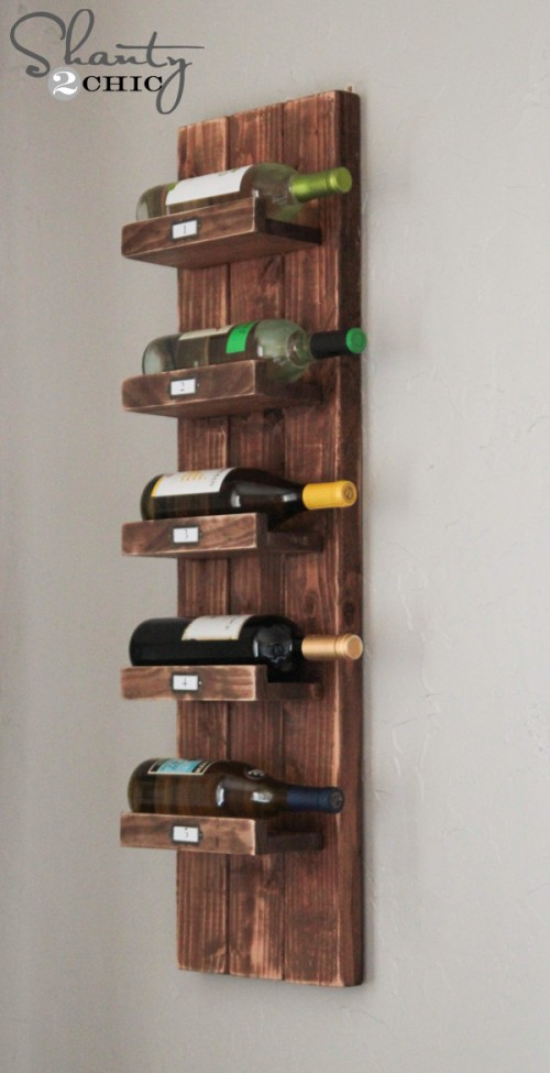 Wine Rack Plans Throughout Wine Rack Diy Shanty Chic