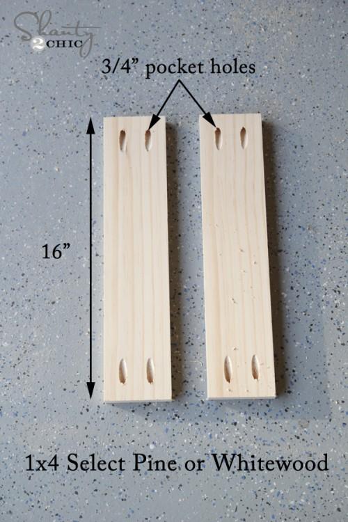 Wood Mirror Measurements