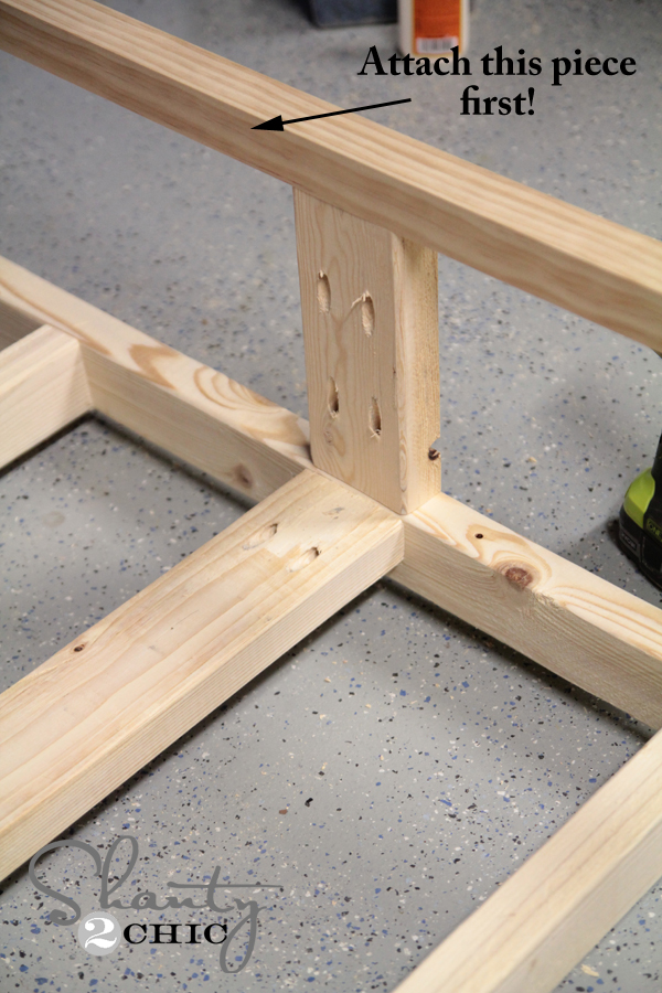 building a wood coffee table