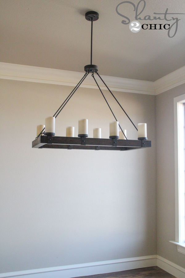 Fabulous candle chandelier