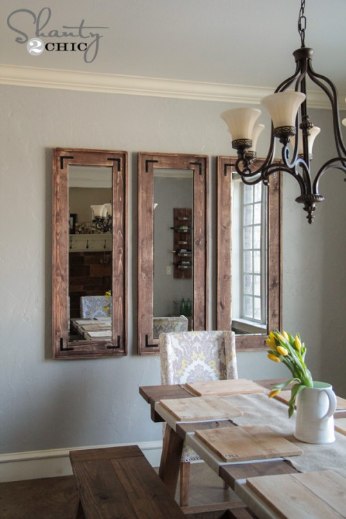 DIY Wall Mirrors