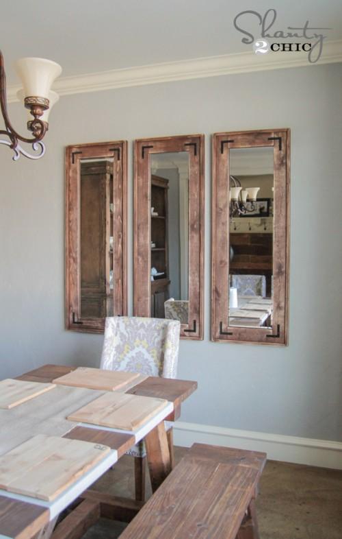 DIY Rustic Full Length Mirrors! - Shanty 2 Chic