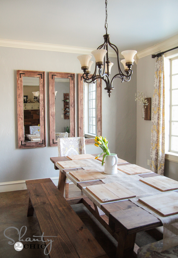 Diy Rustic Full Length Mirrors Shanty 2 Chic