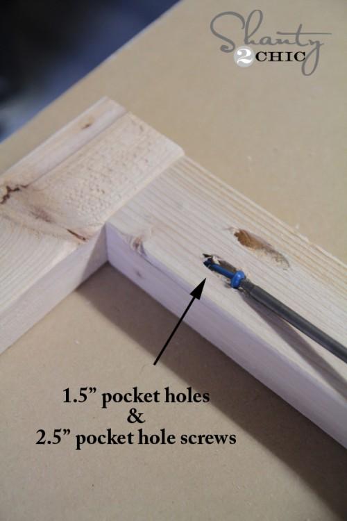 Kreg Jig Pocket Holes