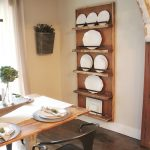 DIY Industrial Pipe Plate Rack