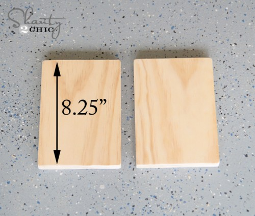 measurement of side pieces