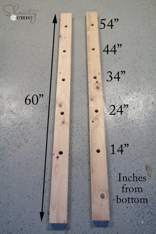 measurements for blanket ladder