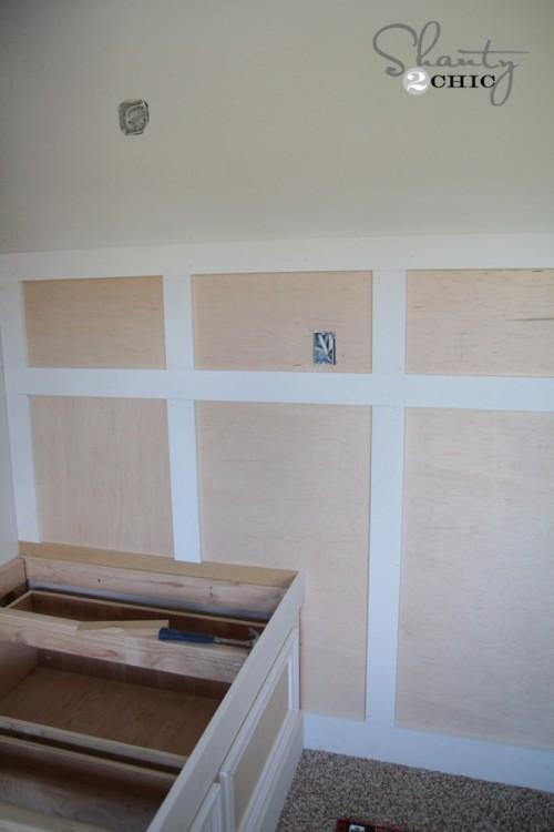 Board and Batten Tutorial DIY