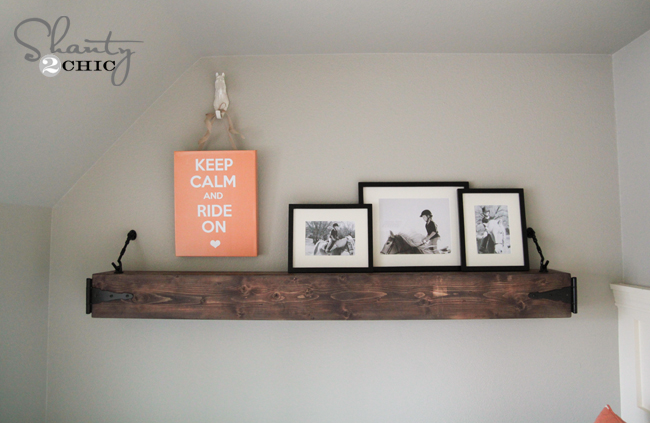 diy rustic shelf 3