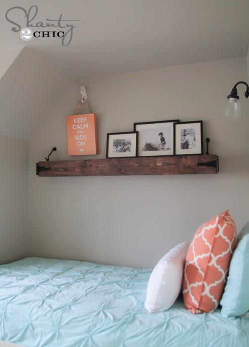 Floating Mantle or Shelf DIY