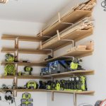 Super Easy DIY Garage Shelves