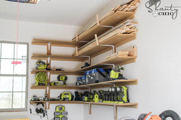 Ordinaire DIY Garage Organization