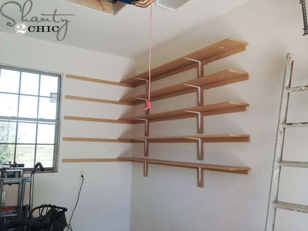 Garage Shelving Plans Pdf