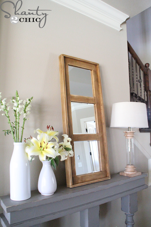 Diy Wooden Mirror Shanty 2 Chic