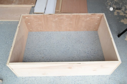 Drawers for storage bed