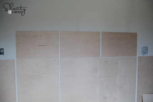 Panel a wall DIY