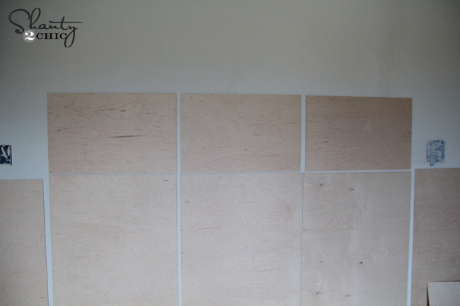 Diy Wall Paneling : Diy wall paneling shanty chic