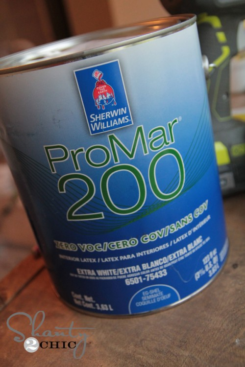 Perfect Cream Paint from Sherwin Williams