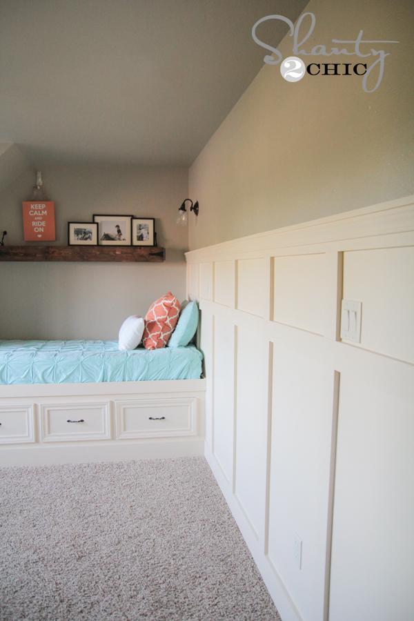 diy wall paneling shanty 2 chic. Black Bedroom Furniture Sets. Home Design Ideas