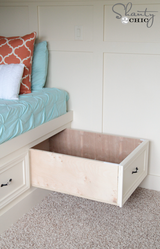 Ideal Storage Drawers under the bed DIY